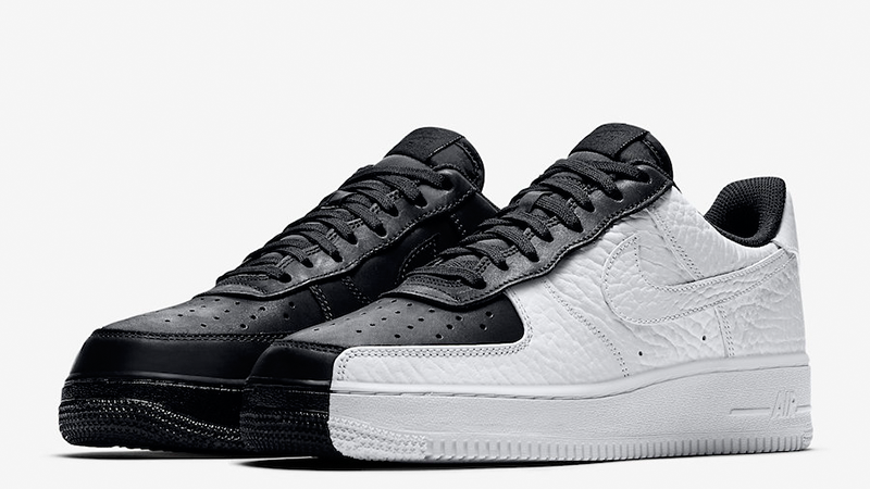 nike air force 1 white black tick