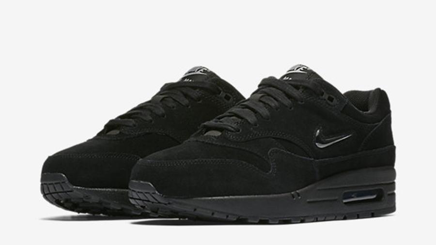 Nike Air Max 1 Jewel Triple Black