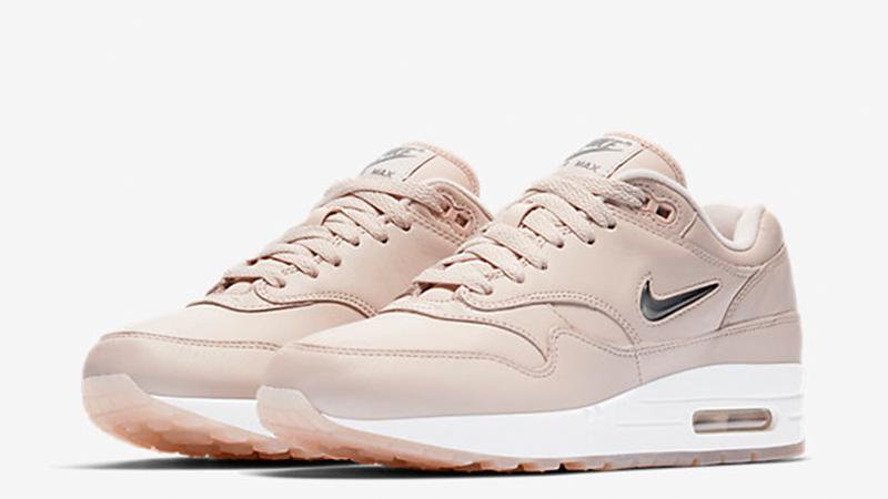Nike Air Max 1 Premium Jewel Pink Womens