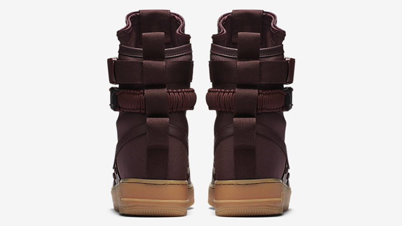 Nike SF Air Force 1 High Burgundy Gum