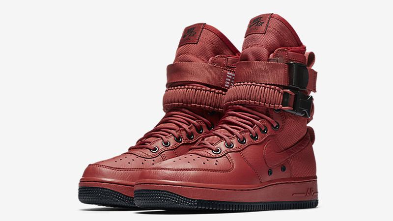 Nike SF Air Force 1 High Oxy Bood