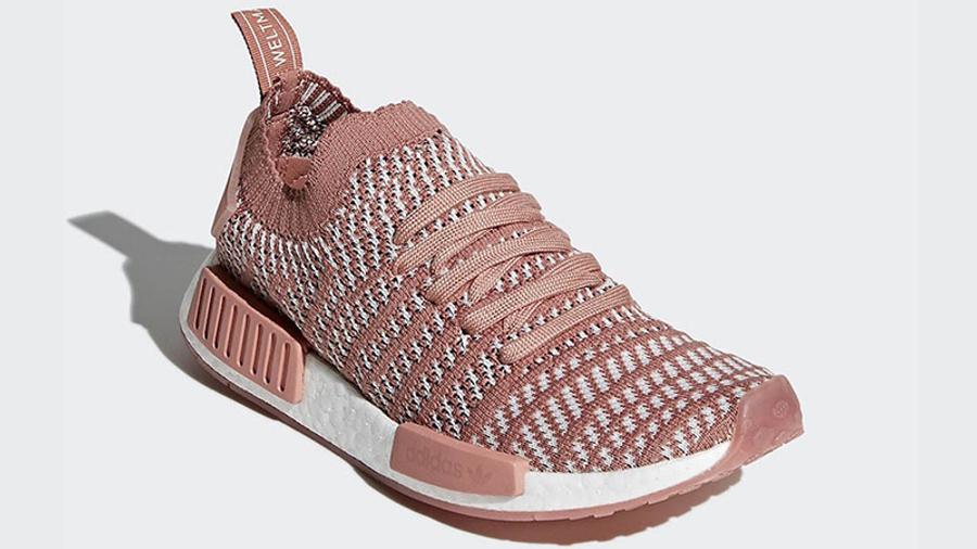 adidas NMD R1 Primeknit STLT Ash Pink