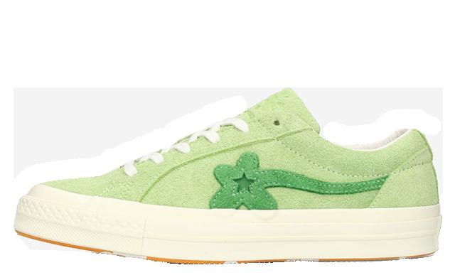 Converse X Tyler Golf Le Fleur One Star Lime 160327C