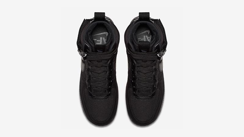 Nike Air Force 1 High Canvas Triple Black