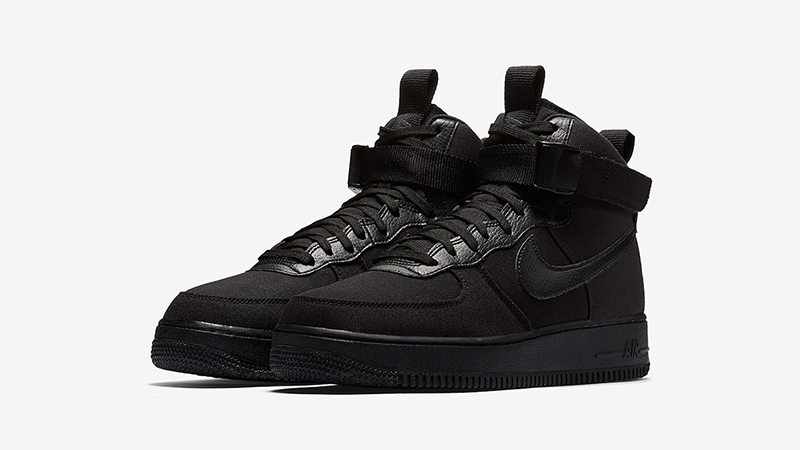 Nike Air Force 1 High Canvas Triple Black