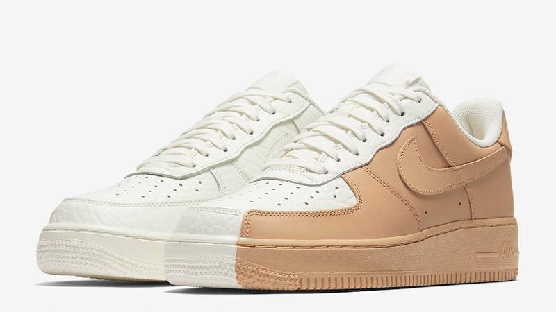 Nike Air Force 1 Low Split White Tan