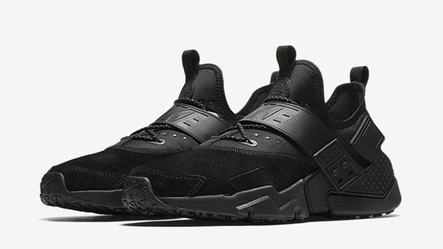 Nike Air Huarache Drift Premium Black | Where To Buy | AH7335-001 ...