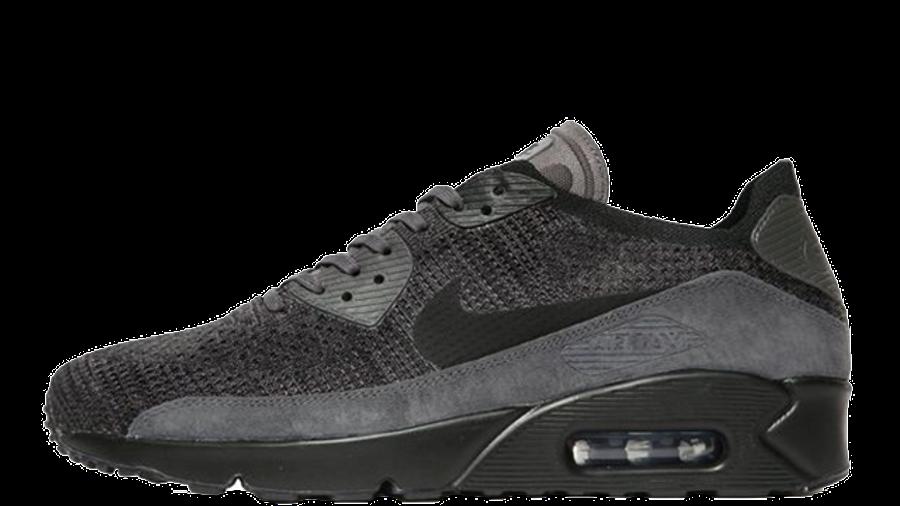 Nike Air Max 90 Ultra 2.0 Flyknit Black Grey