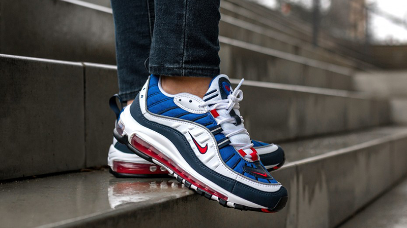 Multiplicación Patentar Tormento  Nike Air Max 98 Gundam | Where To Buy | 640744-100 | The Sole Supplier