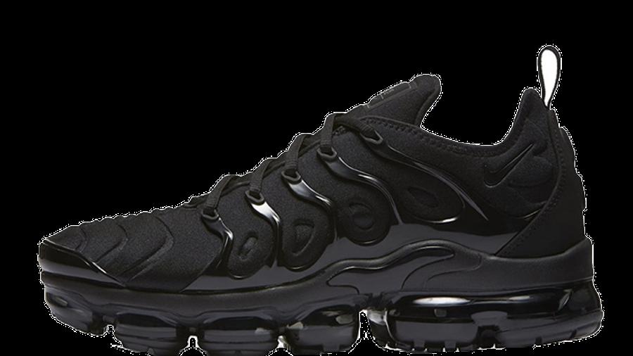 vapormax black size 4