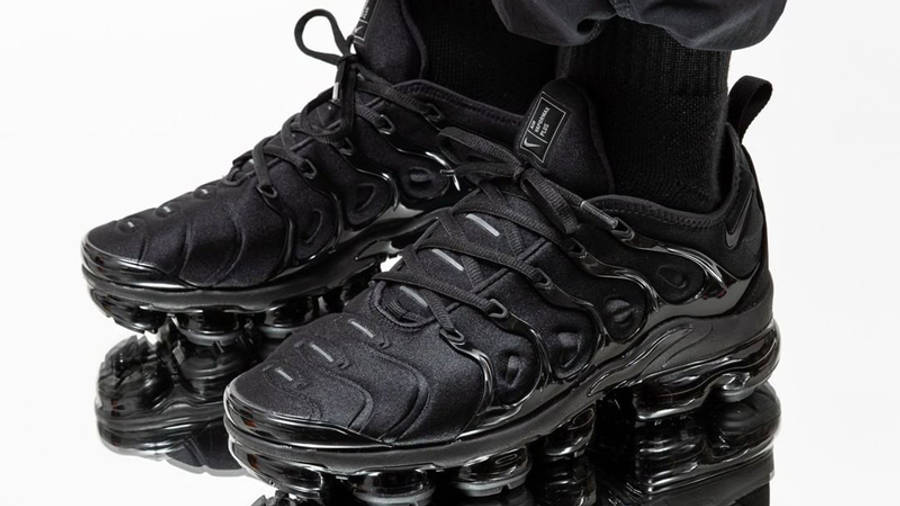 Nike Air VaporMax Plus Triple Black | Where To Buy | 924453-004 ...