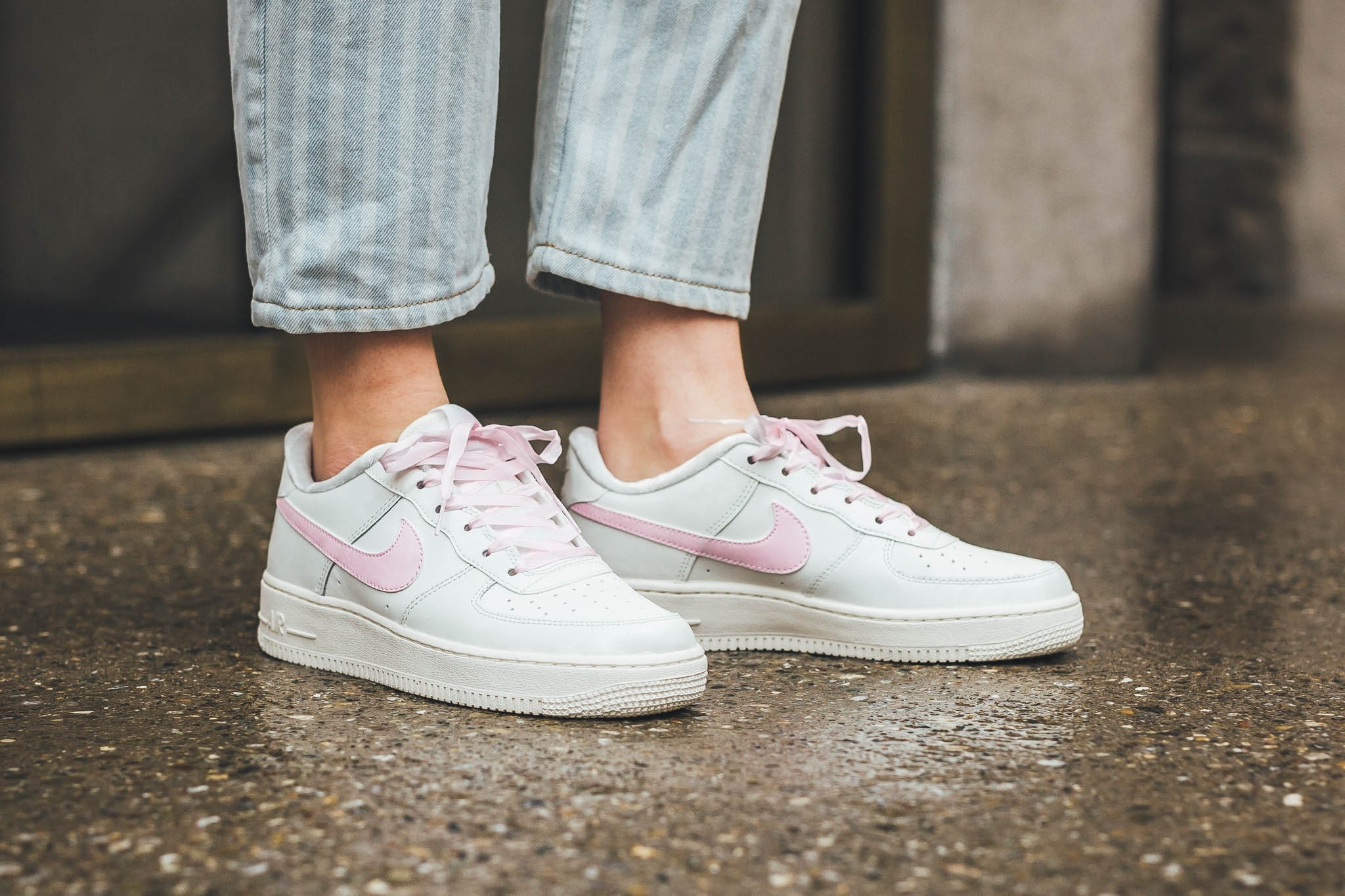 Millennial Pink Transforms Nike's Air Force 1 With Adorable