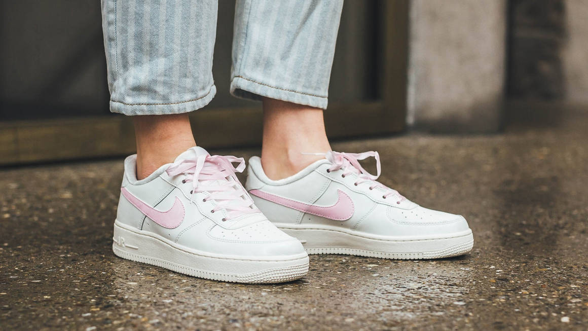 Millennial Pink Transforms Nike's Air Force 1 With Adorable ...