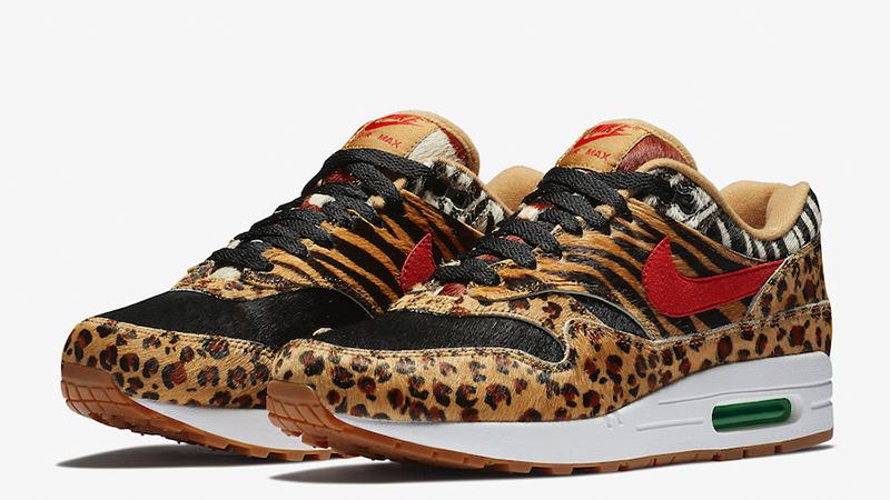 Nike Air Max 1 Atmos DLX Beast Safari Animal Pack 2018 UK 5