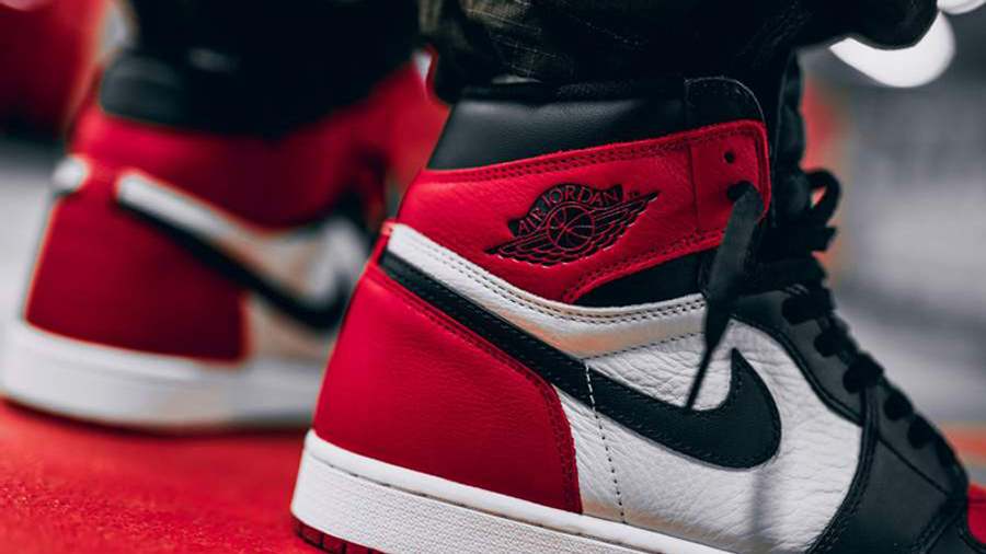 Jordan 1 Bred Toe | Where To Buy | 555088-610 | The Sole Supplier