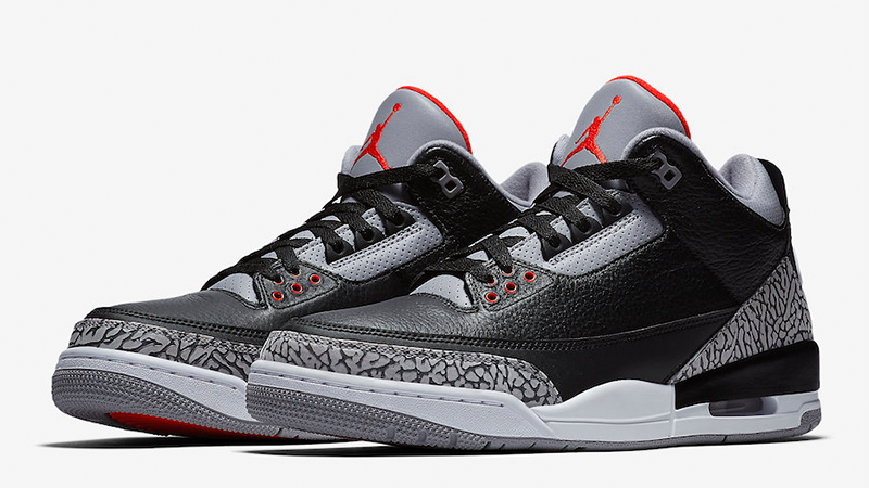 Jordans 3 Jordan 3 Black Cement - Where To Buy - 854262-001 | The Sole Supplier