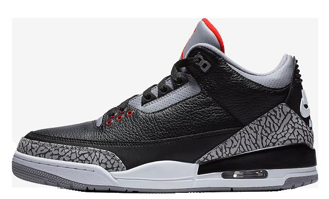 Jordan 3 Black Cement 854262-001