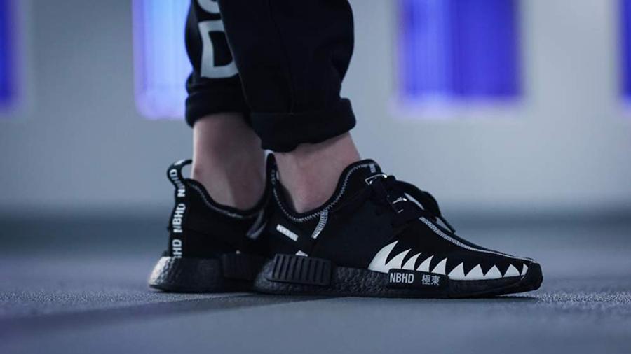 Neighborhood x adidas NMD R1 Black | Where To Buy | DA8835 | The ...
