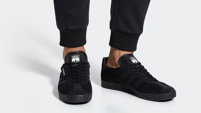 Neighborhood x adidas Super Gazelle Black | Where To Buy | DA8836 ...