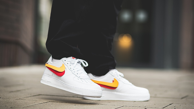 scratch air force 1