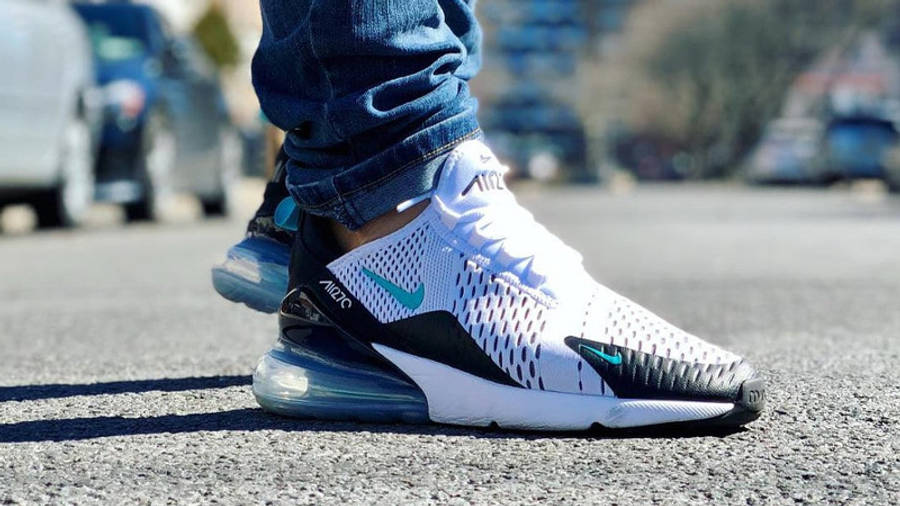 Nike Air Max 270 Dusty Cactus On Foot Side