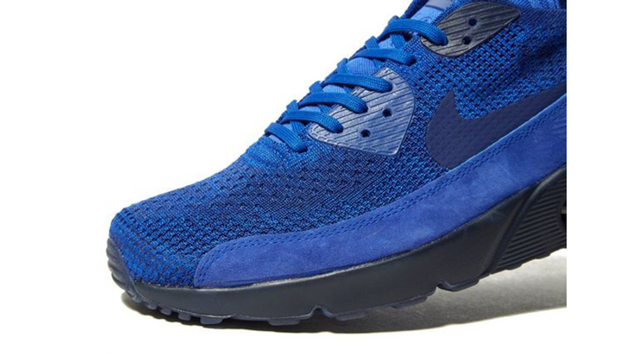 amanecer Máxima Karu  Nike Air Max 90 Ultra 2.0 Flyknit Royal Blue | Where To Buy | 875943-402 |  The Sole Supplier
