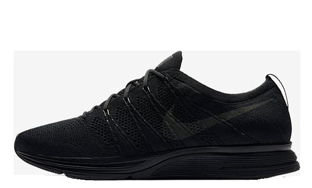 Nike Flyknit Trainer Triple Black AH8396-004