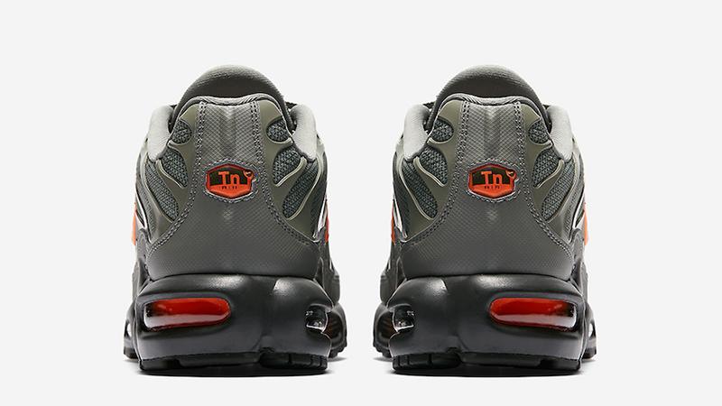 Nike Tn Air Max Plus Grey Orange