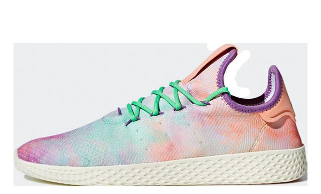 Pharrell x adidas Tennis Hu Holi Coral AC7366
