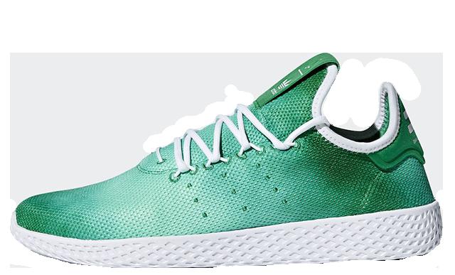 Pharrell x adidas Tennis Hu Holi Festival Green DA9619
