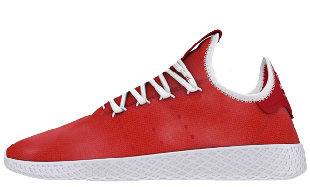 Pharrell x adidas Tennis Hu Holi Festival Red DA9615