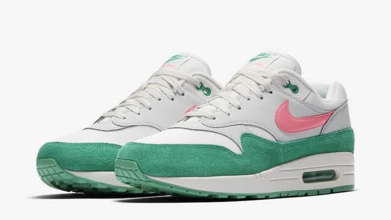 """2020 Nike Air Force 1 Low """"Watermelon"""" White Green For Cheap"""