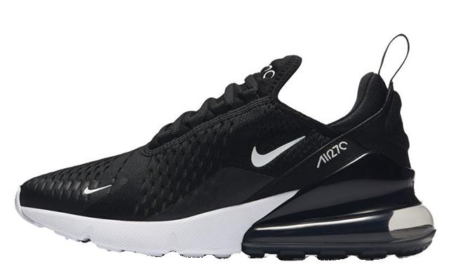 Nike Air Max 270 Black White Womens