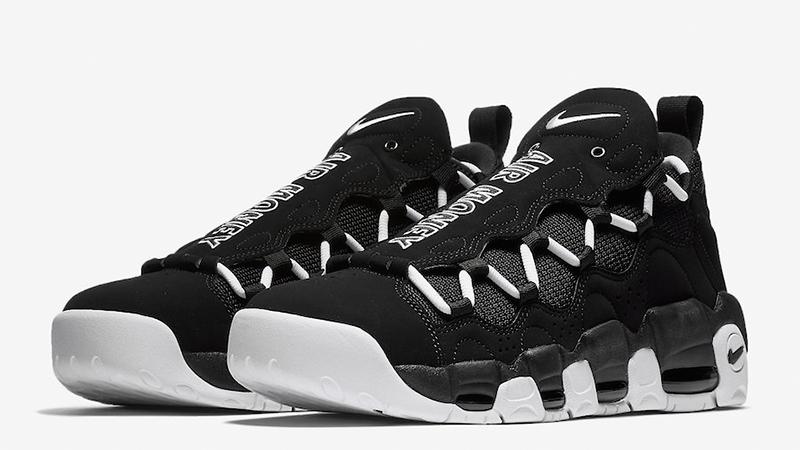 Nike Air More Money Black White - Where