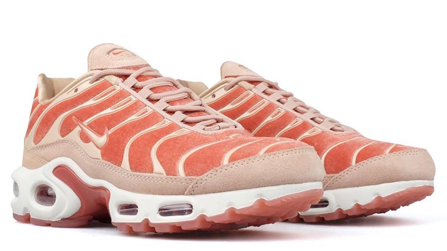 compacto detección Sentimiento de culpa  Nike Tn Air Max Plus LX Dusty Peach Womens - Where To Buy - AH6788-201 |  The Sole Supplier
