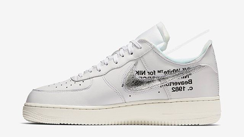 Off White x Air Force 1 White Complex Con Where To Buy