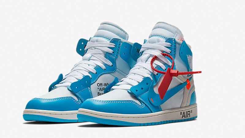Off-White x Jordan 1 UNC Blue - Where