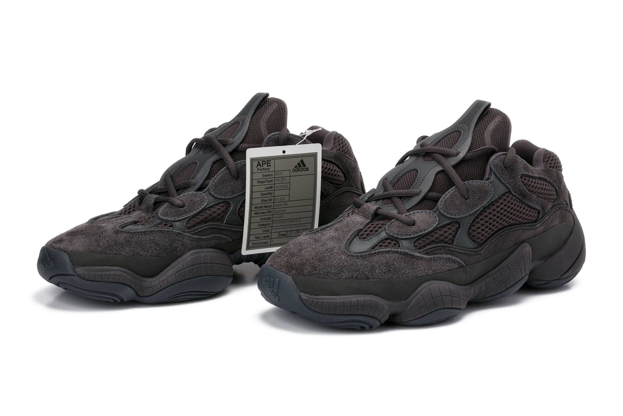 Mediar Rubí Bienes diversos  The adidas Yeezy 500 'Shadow Black' Is Available Now… But There's A Catch |  The Sole Supplier