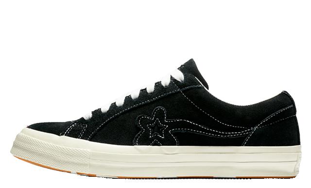 Converse x Golf Le Fleur One Star Black 162129C