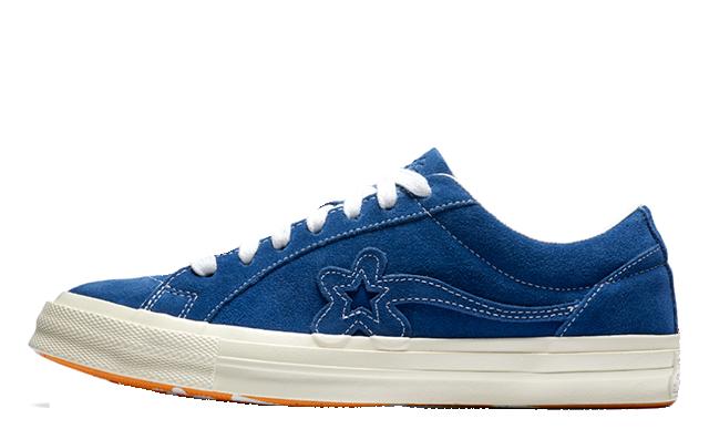 Converse x Golf Le Fleur One Star Blue 162131C