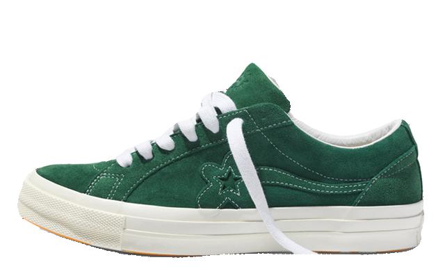 Converse x Golf Le Fleur One Star Green 162130C