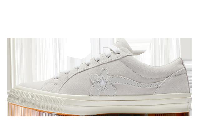 Converse x Golf Le Fleur One Star White 162133C