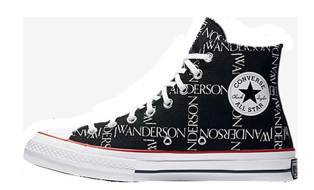 Converse x JW Anderson Chuck Taylor 70 Hi Black 160807C-001