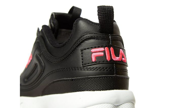 Fila Disruptor II Black Womens 01