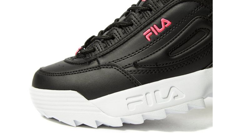 Fila Disruptor II Black Womens 03