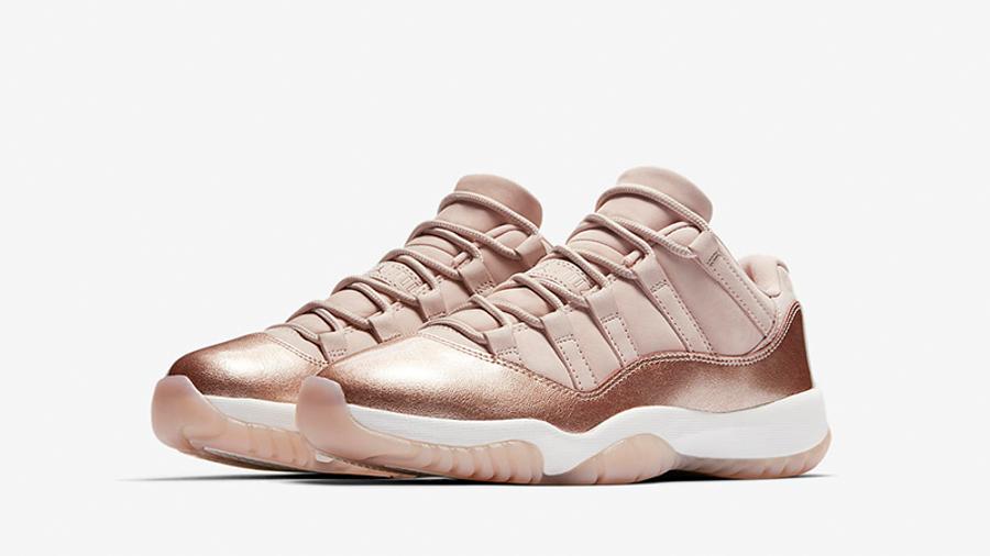 Jordan 11 Rose Gold Womens | Where To