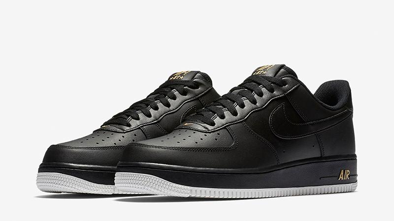 Nike Air Force 1 Low Crest Logo Black