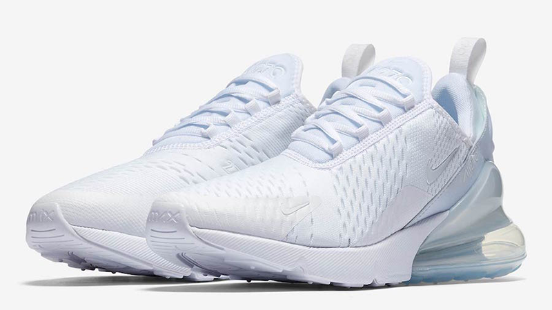 Nike Air Max 270 Triple White Womens