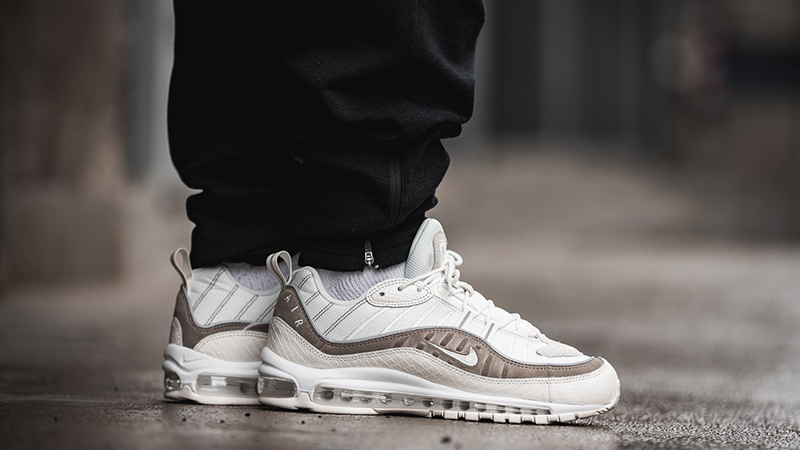 Mejorar extraño Intentar  Nike Air Max 98 Exotic Skin Pack | Where To Buy | AO9380-100 | The Sole  Supplier