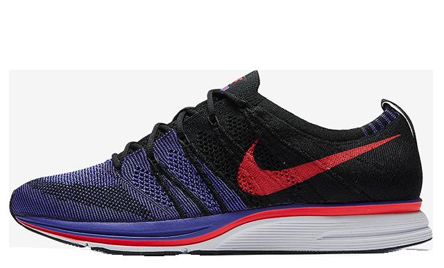 Nike Flyknit Trainer Black Violet AH8396-003